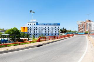 Cordoba Argentina Lugones avenue and omnibus terminal