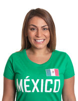 Portrait of a mexican girl