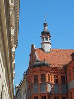Altstadt von Görlitz mit dem Schönhof, Sachsen, Deutschland