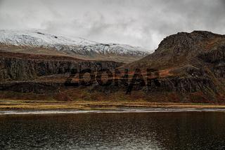 Mountains in Borgarfjordur Eystri, Iceland