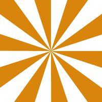 Rays orange and white