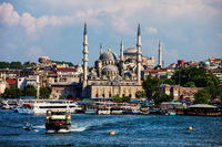 Istanbul Eminonu District City Skyline