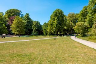 Hessepark in Blankenese, Hamburg, Deutschland, Sommer 2020