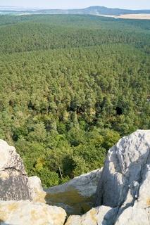 Blick vom Regenstein bei Blankenburg