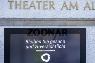 Theatre closed during Corona Shutdown