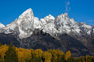 Autumn Colours in the Lee of the Grand Tetons