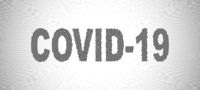 Covid-19 halftone vector illustration