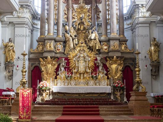 High Altar of St. Peter Church - Munich