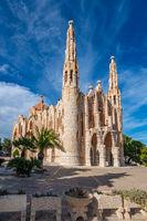 Sanctuary of Santa Maria Magdalena, Novelda, Alicante, Spain.
