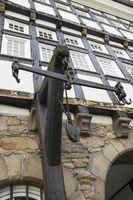 Altes Rathaus in Hattingen, NRW, Deutschland