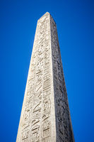 Obelisk of Luxor in Concorde square, Paris