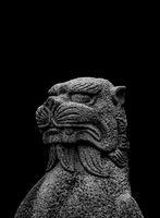 Fantasy Animal Sculpture Creepy Background