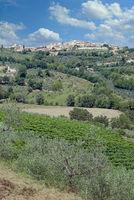 Montefalco,Umbrien,Italien