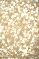 Bright round light bokeh vivid champagne color