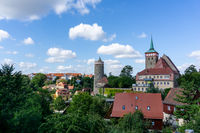 cityscape view of the old town of Bautzen in Saxony