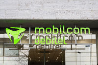 Mobilcom Debitel shop of german mobile service provider in Hannover, Germany on March 2, 2020