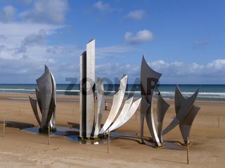 Les Braves Omaha Beach Memorial;