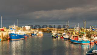 Seahouses, Northumberland, England, UK