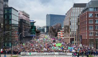 'Fridays for Future'- Demonstration in Hamburg, Februar 2020