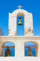 Old belfry of greek church