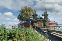 Badeinsel von Keszthely am Balaton,Ungarn