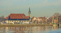 Konstanzer Hafen, Konzilgebäude und Stephanskirche