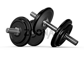 Black Dumbells