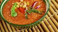 Chickpea Soup with Minced Beef