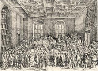 Baronial banquet of Emperor Ferdinand I, 1560