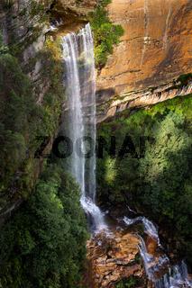 Katoomba Falls in Blue Mountains Australia