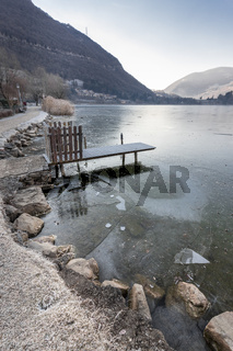 Iced Endine lake