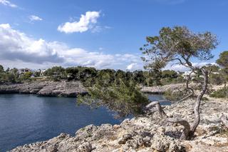 An der Südostküste von Mallorca