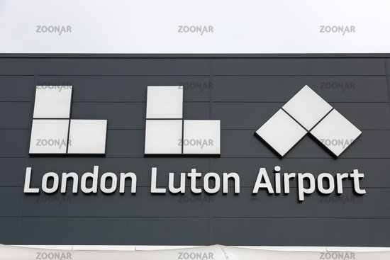 Flughafen London Luton Airport LTN Logo