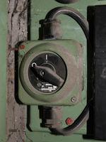 grüner 16A Hauptschalter mit Kabel