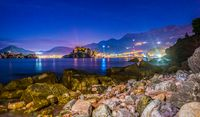 Stones and Sveti Stefan