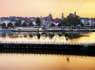 Maastricht by evening