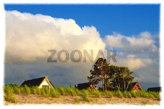 Strandhäuser auf Poel