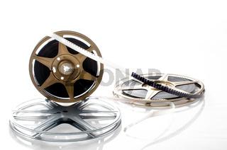 8mm film reels