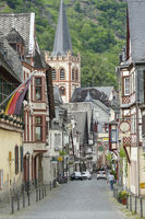 Bacharach city view