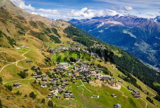 Riederalp, Wallis, Schweiz