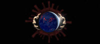 Coronavirus infecting the world, virus cell with human hands grasping the planet earth