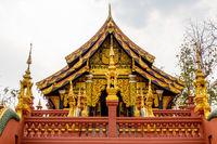 Architecture at Wat Phra That Doi Phra Chan