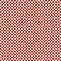 checks red and white