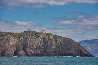 Der Leuchtturm auf dem Kap Finisterre