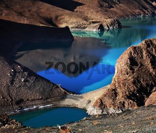 Lake in Tibet
