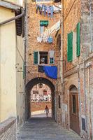 Quiet alley - Siena