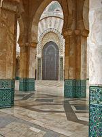 Mosque Hassan II in Casablanca, Morocco