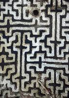 DeckengewölbemitkreuzförmigemMusterung