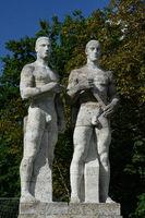 Staffelläufer Olympiastadion Berlin