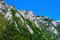 Bucegi Mountains in Romania